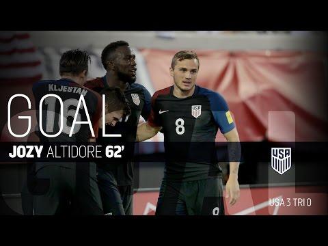 MNT vs. Trinidad & Tobago: Jozy Altidore Second Goal - Sept. 6, 2016