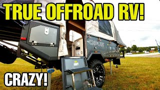 Next Gen Popup Camper RV from OPUS! Check this out! The Inflatable Popup!