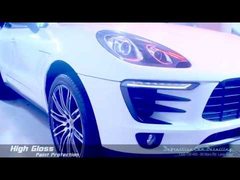 Porsche Macan White Definitive Sydney Liquid Glass Ceramic Coating High Gloss Paint Protection Treat