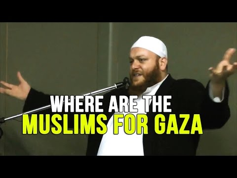 Where are the Muslims for Gaza? - Shady Al Suleiman