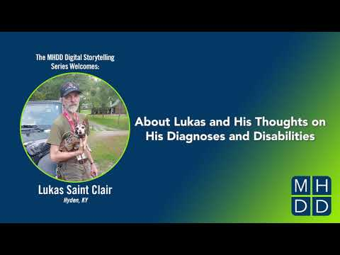 Lukas' Story Part One: About Lukas and His Thoughts on His Diagnoses and Disabilities