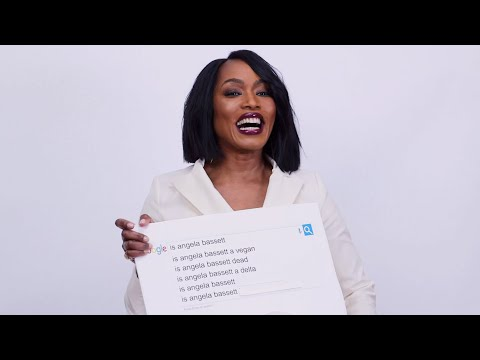 Angela Bassett Answers the Web's Most Searched Questions | WIRED