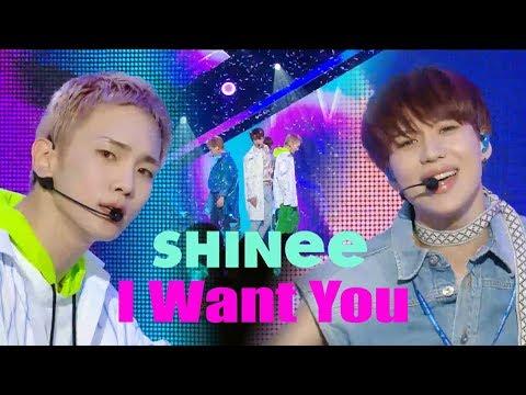 [HOT] SHINee - I Want You  , 샤이니 - I Want You   Show Music core 20180623