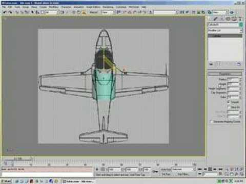 Learn How To Make 3d Airplane Model Creating The Fuselage 1 Youtube