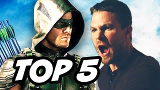 Arrow Season 4 Episode 4 - TOP 5 WTF and Easter Eggs