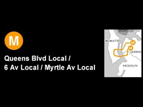 Bve Premiere: IND 6th Avenue M Line to Forest Hills - 71st Ave Via Metropolitan Ave (60 FPS)