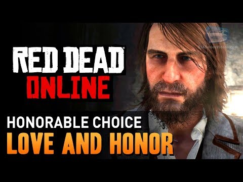 Red Dead Online - Mission #1 - Love and Honor (Honorable) [Gold Medal]
