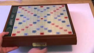 LL Bean Deluxe Scrabble Board Review