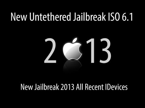 Untethered Jailbreak ISO 6.1 New Jailbreak 2013 All Recent IDevices from YouTube · Duration:  5 minutes 45 seconds