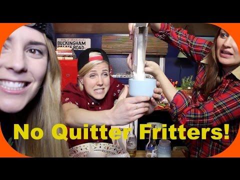 MY DRUNK KITCHEN: No Quitter Fritters