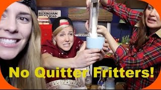 MY DRUNK KITCHEN: No Quitter Fritters