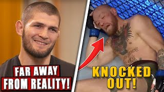Khabib REACTS to Conor McGregor's KO loss to Dustin Poirier,Reactions to Chandler's insane UFC debut