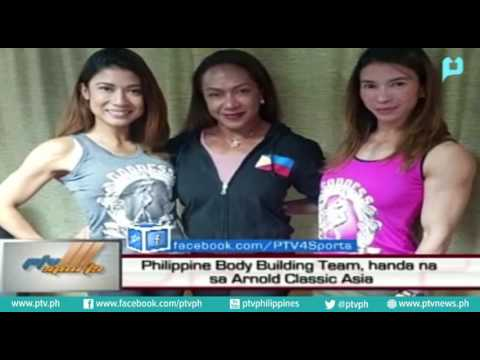 Philippine Body Building Team, handa na sa Arnold Classic Asia by PTV
