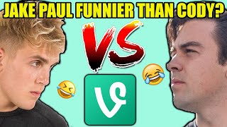Cody Ko VS. Jake Paul! VINE COMPETITION! WHO IS MORE FUNNY??