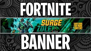 How To Make A FORTNITE YouTube Banner On iPhone or Android WITHOUT Photoshop Touch For FREE!