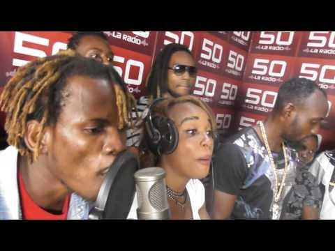 SK (Team Bantu) Freestyle Radio Télé 50 Clash urbain (Kinshasa)