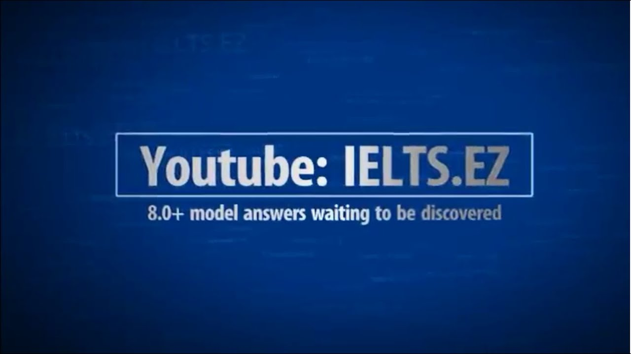IELTS Speaking Model Answer High Score 8.0+ (9) - YouTube