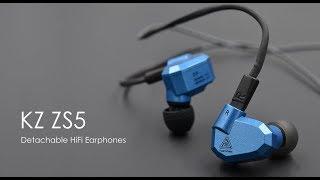 обзор лучших внутриканальных наушников KZ ZS5 Hi-Fi уровня. Чистейший звук