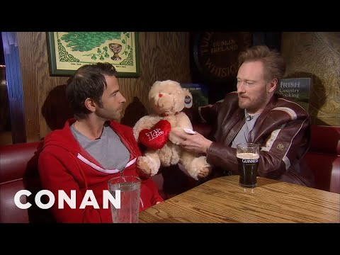 Conan & Jordan Schlansky Talk About Love 02/15/11  - CONAN on TBS