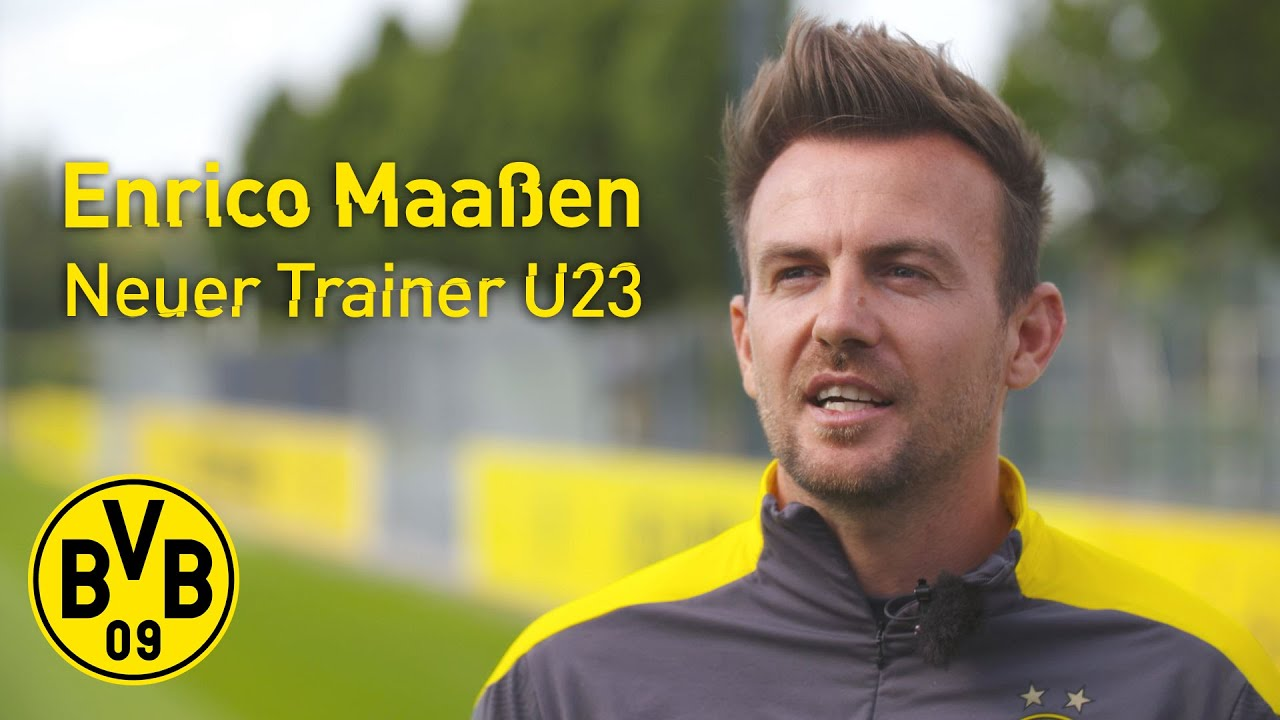 Meet our new U23 coach: Enrico Maaßen