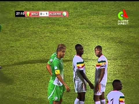 Mali 2 vs 1 Algerie 1ere Mi-temps (Canal Algerie)