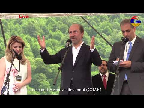 Garo Armen, (Full Speech) founder and executive director of the Children of Armenia Fund streaming vf