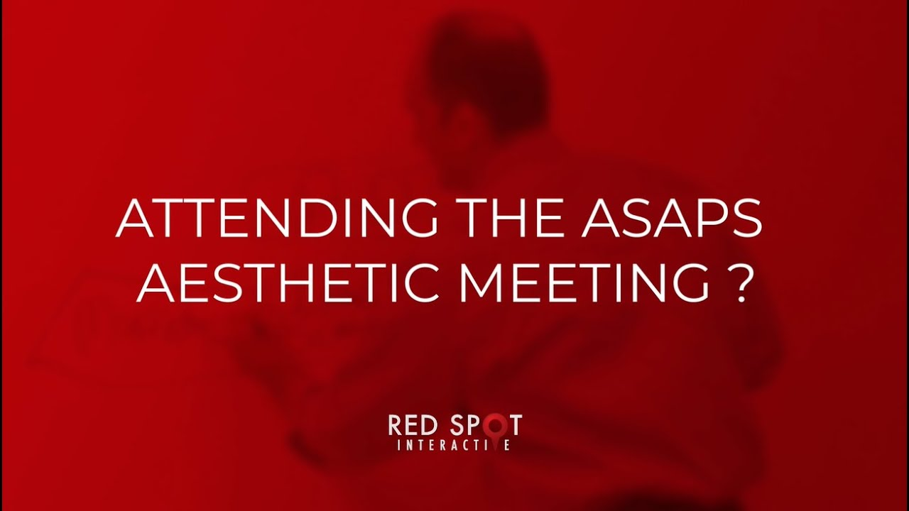 ASAPS Aesthetic Meeting 2019 - Red Spot at Booth #555