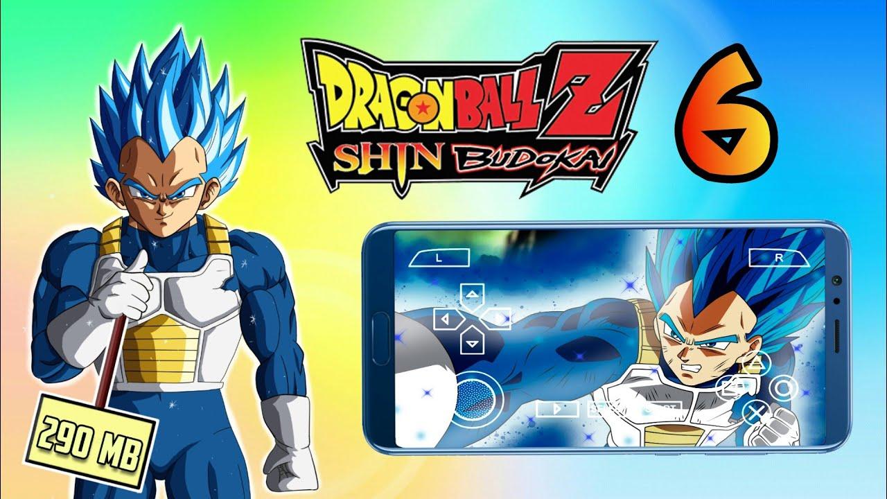 Dragon Ball Z Shin Budokai 6 PSP download (290 MB