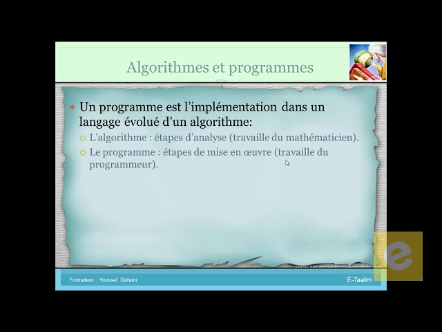 1 Algorithmique : Introduction