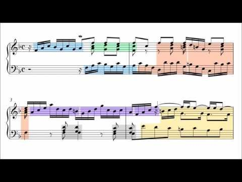 Bach: Little Prelude in F Major, BWV 928 (Musical Analysis)