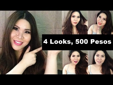500 Peso Makeup Challenge Tutorial Version + First Impression Reviews (FULL DAY)
