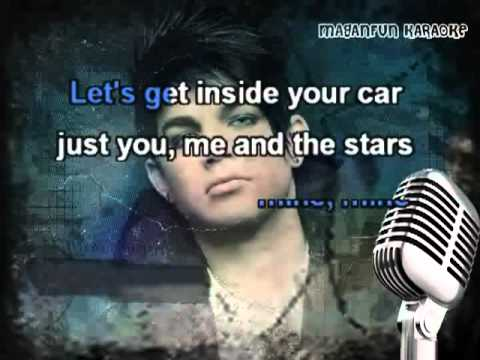Adam Lambert, Lady GaGa - Fever (Karaoke w/ Lyrics and Backing Vocals)