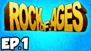 Rock of Ages Ep.1 - BATTLING HISTORICAL CHARACTERS!!! (Gameplay / Let