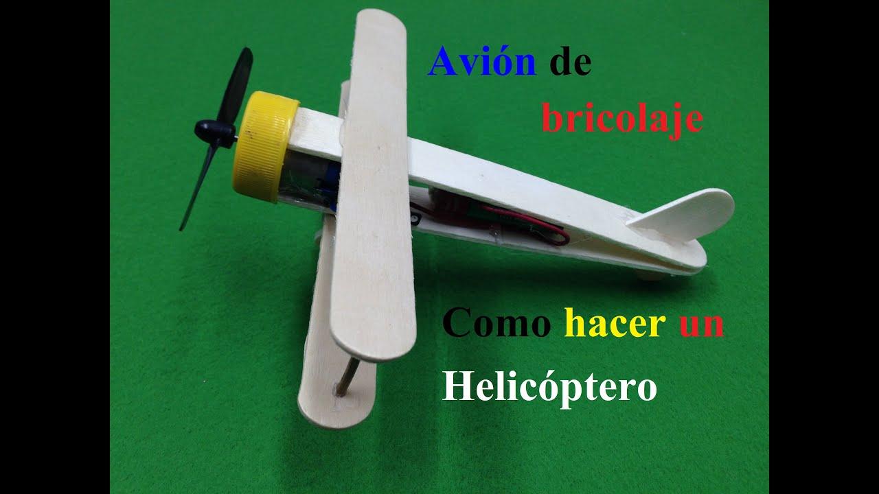 Como hacer un helic ptero avi n de bricolaje - Como hacer un altillo de madera ...