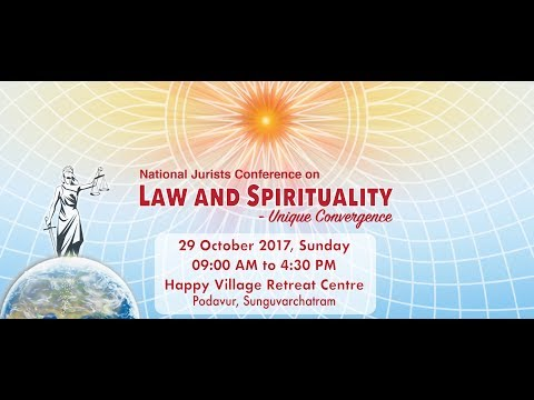 National Jurist Conference - Law and Spirituality @ Chennai