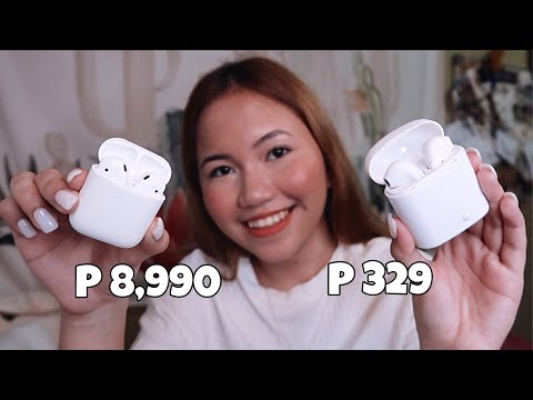 329 PESOS NA AIRPODS!? (AIRPODS DUPE)