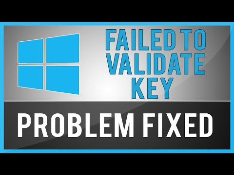 Windows 8.1 - Setup Has Failed To Validate The Product Key (Problem Fix)