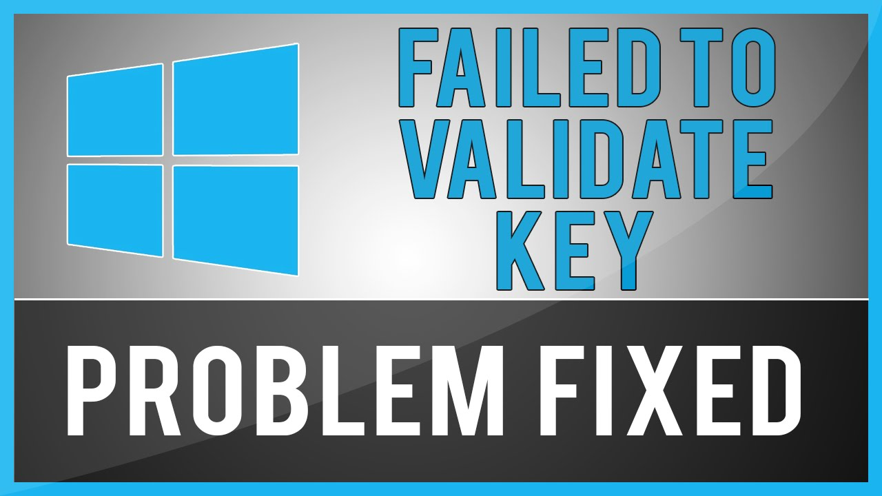setup has failed to validate the product key windows 10 creators update