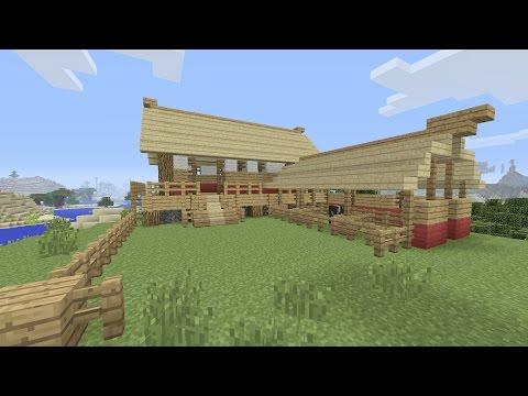 Minecraft een huis bouwen 1 doovi for Huis maken minecraft