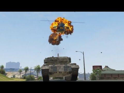 I HAVE A TANK! - Grand Theft Auto 5