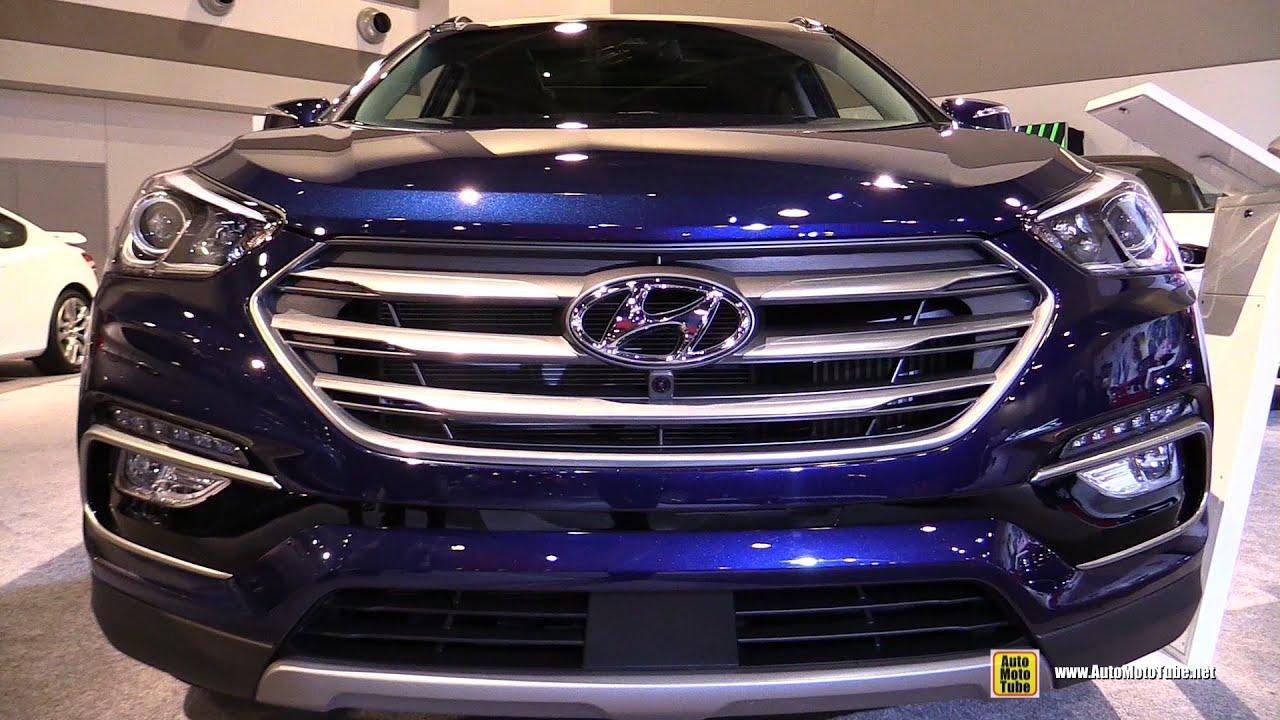 2017 hyundai santa fe sport 2 0t awd ultimate exterior - Hyundai santa fe sport interior photos ...