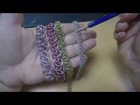Live Chain Maille Demonstration - Dragon Toes