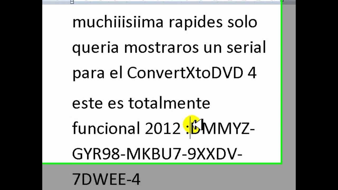 convertxtodvd 4 crack