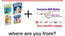 Free Sample Weight Loss Pills - over $300 worth