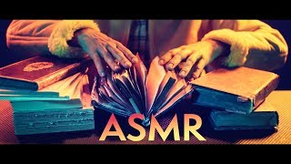 ASMR PAGE TURNING 8 Crinkly Ancient Books From A French Bouquiniste In Paris