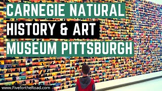 Carnegie Museum of Natural History and Art | Family Travel Vlog