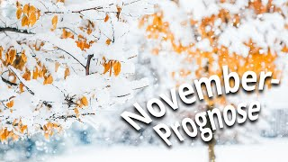Wetterprognose November 2019: Adventsstart bereits im Schnee?
