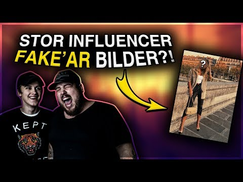 STOR SVENSK INFLUENCER FAKE'AR SINA BILDER? ft. KEKU