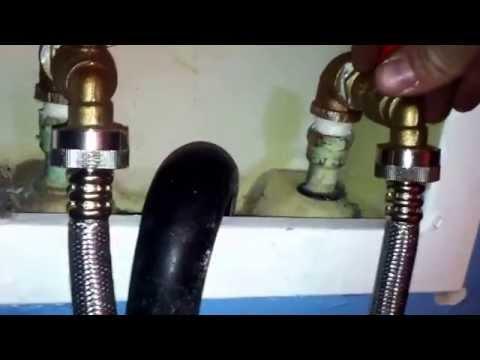 kitchen sink washer/dryer hookup