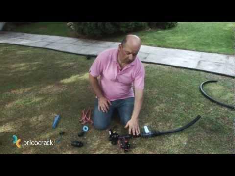 Jardinería: instalar un sistema de riego automático 1 (Bricocrack)